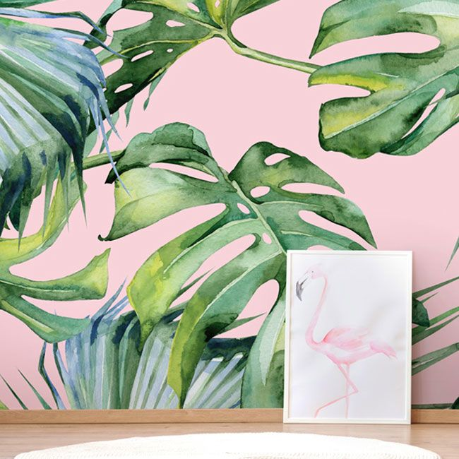 13 Banana Leaf Wallpaper and Palm Leaf Ideas for Creating a Tropical Paradise