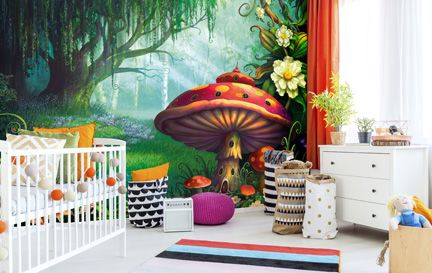 nursery wallpaper \u0026 wall murals wallsauce usnursery wallpaper wall mural wallpaper