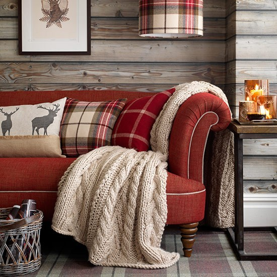 tartan room decor winter