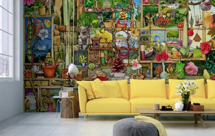Colin Thompson Wall Murals Wallpaper
