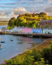 Portree, Isle of Skye mural wallpaper thumbnail