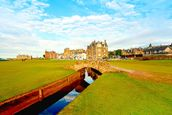 St Andrews Swilcan Bridge mural wallpaper thumbnail