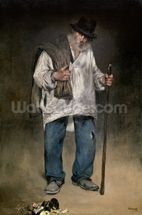 The Ragman, 1869 (oil on canvas) wall mural thumbnail