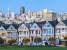 Victorian Houses, San Francisco wall mural thumbnail