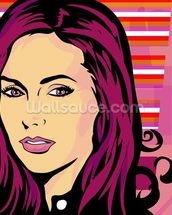 Pop Art - Beauty wallpaper mural thumbnail