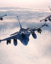 Fighter Jets wall mural thumbnail
