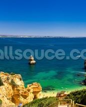 Algarve View wallpaper mural thumbnail