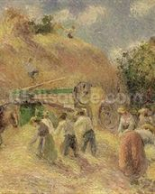 The Harvest, 1883 wallpaper mural thumbnail