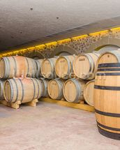 Barrels of Wine wall mural thumbnail