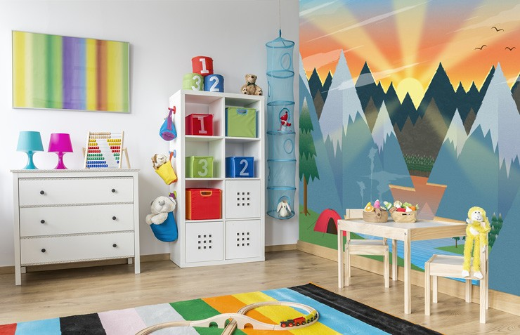 Kids-mural-in-bedroom