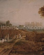 Conway Castle wallpaper mural thumbnail