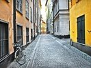 Old Town Stockholm wall mural thumbnail