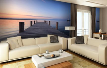 Calm and Tranquil Wall Murals Wallpaper