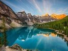 Banff National Park, Moraine Lake wall mural thumbnail