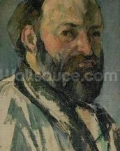 Self Portrait, c.1877-80 (oil on canvas) wall mural thumbnail