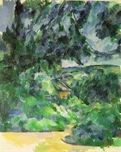 Blue Landscape, c.1903 (oil on canvas) wall mural thumbnail