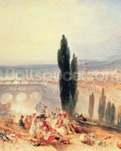 Florence from near San Miniato, 1828 wallpaper mural thumbnail