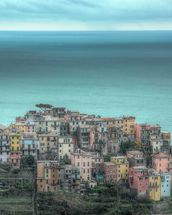 Corniglia on the Cliffs wall mural thumbnail
