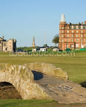 Swilcan Bridge, St Andrews Old Course wallpaper mural thumbnail