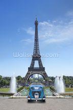 Tour Eiffel Paris Wallpaper Wall Mural | Wallsauce Australia