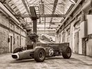 Vintage Racing Car wall mural thumbnail