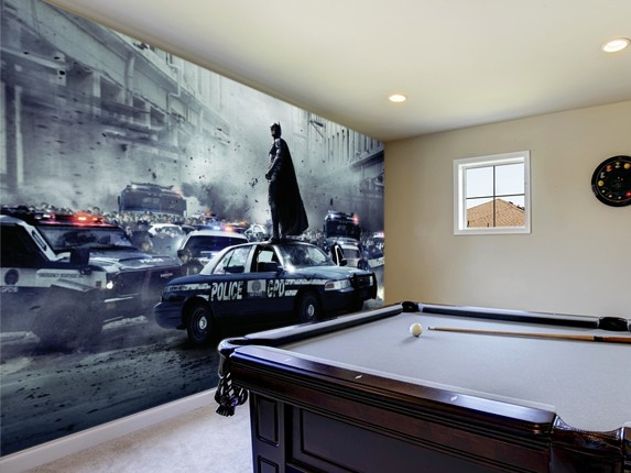 The dark knight rises wall murals wallsauce for Dark knight mural