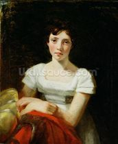 Mary Freer, 1809 (oil on canvas) mural wallpaper thumbnail