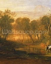 The Forest of Bere, c.1808 wallpaper mural thumbnail