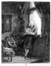 Jan Six, 1647 (etching) wallpaper mural thumbnail