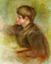 Portrait of Coco painting, c.1910-12 wall mural thumbnail