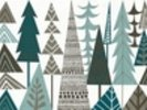 Forest Folklore Trees wall mural thumbnail