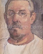 Self portrait, 1902-3 (oil on canvas) mural wallpaper thumbnail