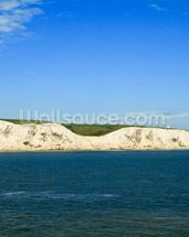 White Cliffs of Dover Panoramic wall mural thumbnail