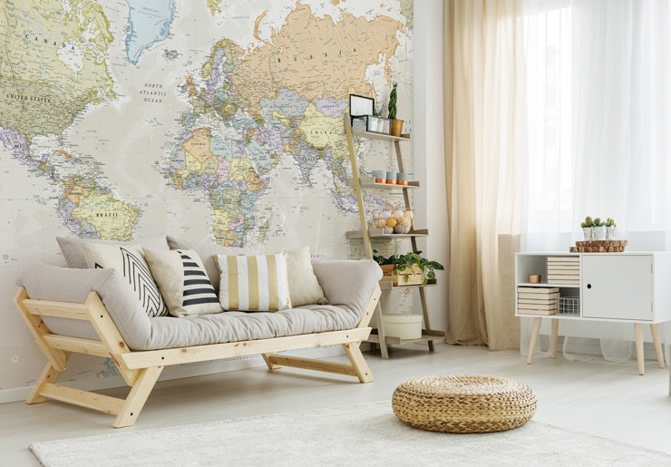 pastel-map-mural-in-lounge