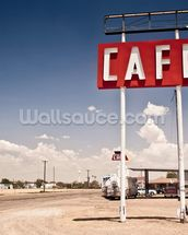 USA Route 66 mural wallpaper thumbnail