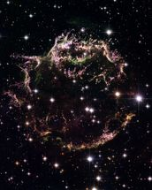 Supernova Remnant Cassiopeia A - December 2004 wall mural thumbnail