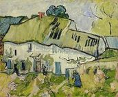 The Farm in Summer, 1890 (oil on canvas) wallpaper mural thumbnail