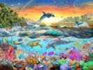 Tropical Paradise wall mural thumbnail