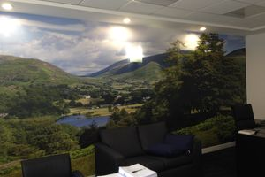 Wallsauce brings a touch of The Lake District to CorpAcq's Altrincham offices
