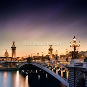 Pont Alexandre III, Paris mural wallpaper thumbnail
