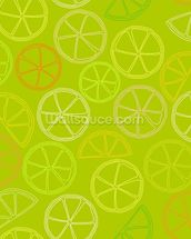 Citrus Pattern wall mural thumbnail