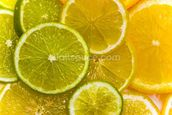 Orange, Lemon and Lime Slices wallpaper mural thumbnail