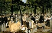 Music in the Tuileries Gardens, 1862 (oil on canvas) wall mural thumbnail