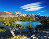 Mount Fitz Roy, Patagonia wallpaper mural thumbnail