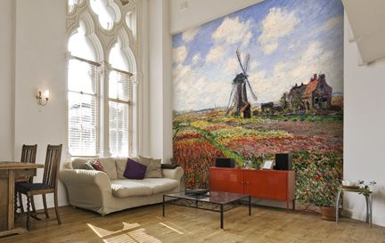 Monet, Claude Wall Murals Wallpaper