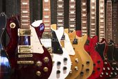 Electric Guitars mural wallpaper thumbnail