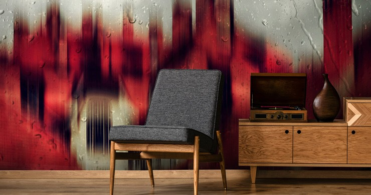 red-and-black-wallpaper-in-lounge