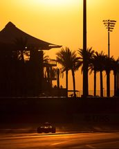 Abu Dhabi Sunset 2013 mural wallpaper thumbnail