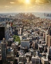 New York from Above wall mural thumbnail
