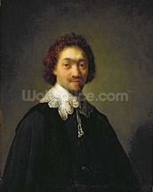 Portrait of Maurits Huygens, 1632 (oil on panel) wallpaper mural thumbnail
